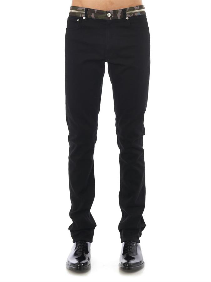 Givenchy Contrast waistband skinny jeans