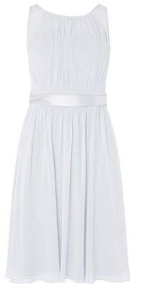 Dorothy Perkins Womens **Showcase Dove Grey 'Bethany' Midi Prom Dress, Grey