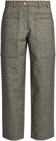 Acne Studios Milford cropped wide-leg trousers