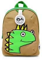 Babymel BabymelTM Zip & Zoe Dino Dylan Face Mini Backpack in Beige