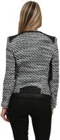 IRO Izzy Tweed Jacket in Black