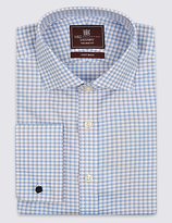 Marks And Spencer Marks And Spencer Pure Cotton Long Sleeve Checked Shirt