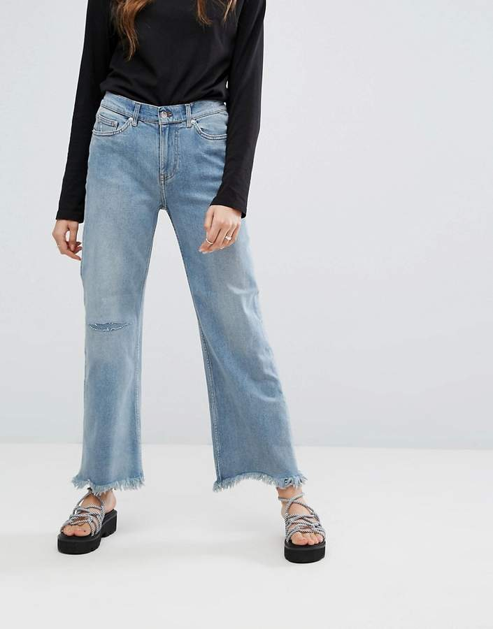 Cheap Monday A Line Chewed Hem Relaxed Jeans