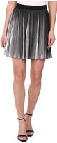 Sam Edelman Black and White Pleated Skirt