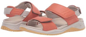 ECCO Sport X-Trinsic Leather Sandal (Black Cow Leather) Women's Sandals