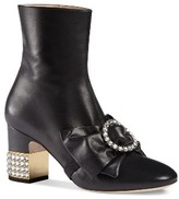 Gucci Women's Candy Bow Crystal Bootie