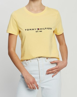 Tommy Hilfiger New Essential Crew Neck Short Sleeve Tee