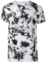 Les (Art)ists number splatter print T-shirt