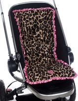 Chocolate & Pink Lollipop Leopard 3-in-1 Stroller Pad