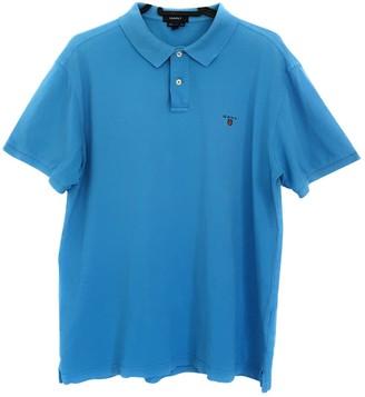 Gant Blue Cotton Polo shirts