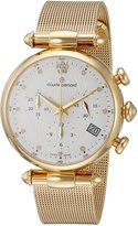 Claude Bernard Women's Swiss Quartz and Stainless-Steel Dress Watch, Color:Gold-Toned (Model: 10216 37J APD2)