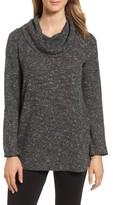 Chaus Women's Cowl Neck Slub Knit Top