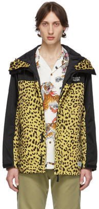 Wacko Maria Black and Yellow The Guilty Parties Leopard Mountain Jacket
