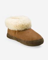 Eddie Bauer Shearling Boot Slipper