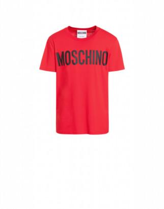 Moschino Cotton T-shirt With Logo Print