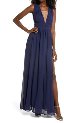 Lulus Heavenly Hues A-Line Gown