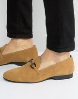 Frank Wright Tassel Loafers Tan Suede