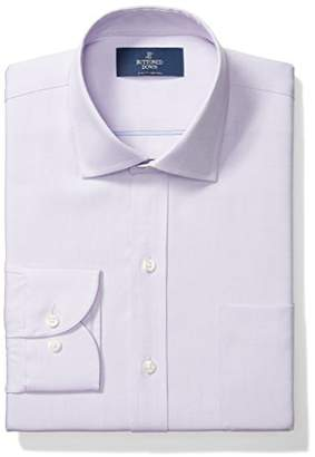 Buttoned Down Slim Fit Solid Pocket Options Dress Shirt, Purple)