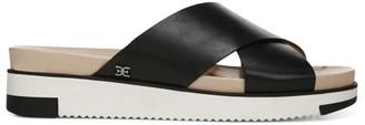 Sam Edelman Audrea Crisscross Leather Slides