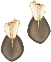 Alexis Bittar Satellite Crystal Spike Clip On Earrings