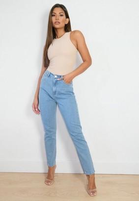 Missguided Wrath Acid Wash Jeans