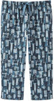 Joe Fresh Women's Pattern Crop Sleep Pant, Print 4 (Size XS)