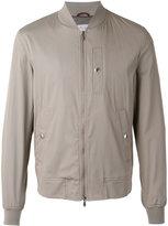 Brunello Cucinelli snap pocket bomber jacket - men - Cotton/Polyamide/Spandex/Elastane/Cupro - 50