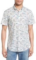 Bonobos Men's Slim Fit Surf Print Short Sleeve Sport Shirt