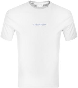 Calvin Klein Shadow Logo T Shirt White