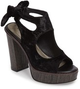 Very Volatile Women's Kimbra Cutout Ankle Tie Sandal