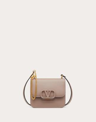 Valentino Small Vsling Grainy Calfskin Shoulder Bag Women Raspberry Pink 100% Pelle Di Vitello - Bos Taurus OneSize