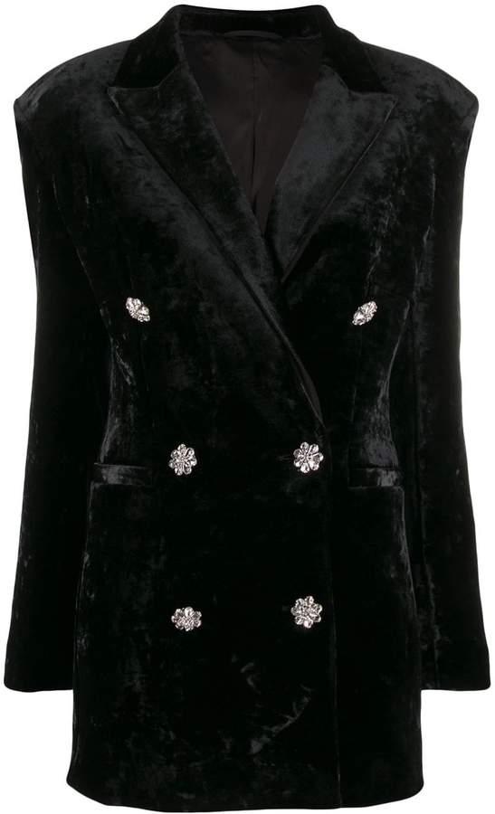 ATTICO The Velvet Dress