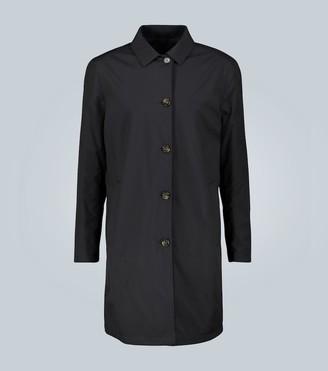 Loro Piana Waterfall reversible raincoat