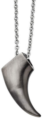 FINE JEWELRY Mens Stainless Steel Antiqued Claw Pendant
