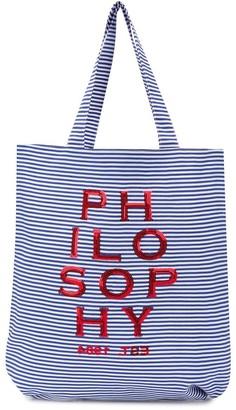 Philosophy Di Lorenzo Serafini Kids Sequin Logo Bag
