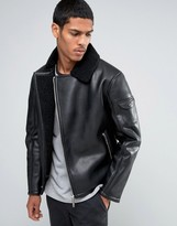 Good For Nothing Faux Leather Biker Jacket