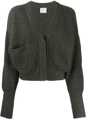 Le Kasha Monaco cropped cashmere cardigan