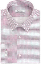 Calvin Klein Men's Slim-Fit Infinite Stretch Contemporary Check Dress Shirt