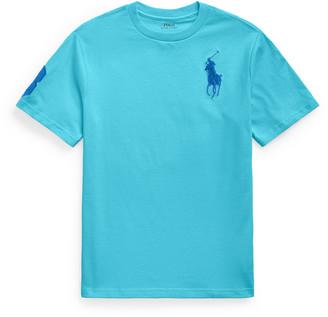 Ralph Lauren Kids Boy's Cotton Embroidered Short-Sleeve Shirt, Size S-L