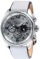 Perry Ellis GT Chrono White Leather Watch