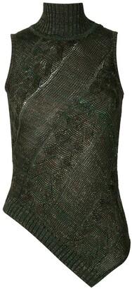 Cecilia Prado knitted Mariane blouse