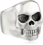 King Baby Studio Small Classic Skull Ring, Size 11