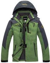 Wantdo Women's Mesh Lining Outdoor Raincoat Jacket Hiking Jacket Windproof