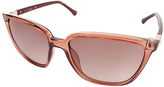 Calvin Klein Brown Cat-Eye Sunglasses - Women