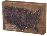 Primitives By Kathy Adventures Together Last A Lifetime String Art Box Sign