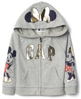 Gap babyGap | Disney Baby Mickey Mouse and Minnie Mouse zip hoodie