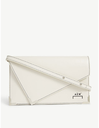 A-Cold-Wall* A Cold Wall Miles leather clutch bag