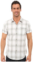 Calvin Klein Jeans Short-Sleeve Ombre Plaid Shirt