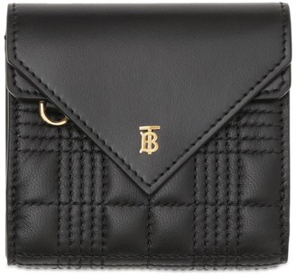 Burberry Leather Quilted Wallet