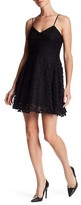 Collective Concepts Lace Fit & Flare Dress
